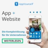 AppYourself Werbebanner - MUSS!